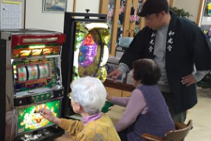老人ホーム等施設へのボランティア訪問