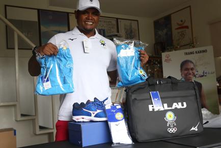 パラオ共和国オリンピック選手団
